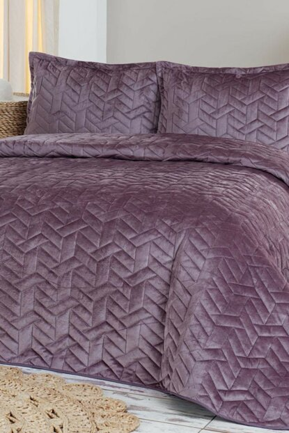 Bedspread Set Double Ruby Plum DYO-001.30208.027