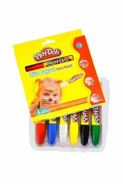 Play-Doh 6 Colors Face Paint PLAY-YU001