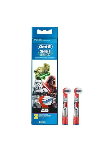 Toothbrush Replacement Head Stages Star Wars Kids 2'Li 4210201161196