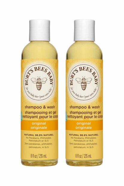 Baby Bee Shampoo Body Wash 2 x 235 ml 792850727222