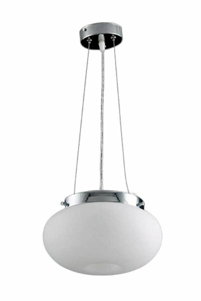 Mother of Pearl 3205-1P Single Chandelier - Chrome 3205-1P CH