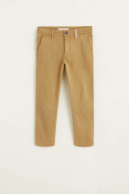 Mustard Color Boys Trousers 33063024
