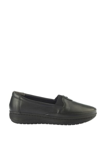Black Women Loafer Shoes 01AYY162070A100