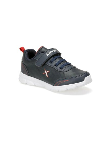 YANNI PU 9PR Navy Blue Boy Walking Shoes