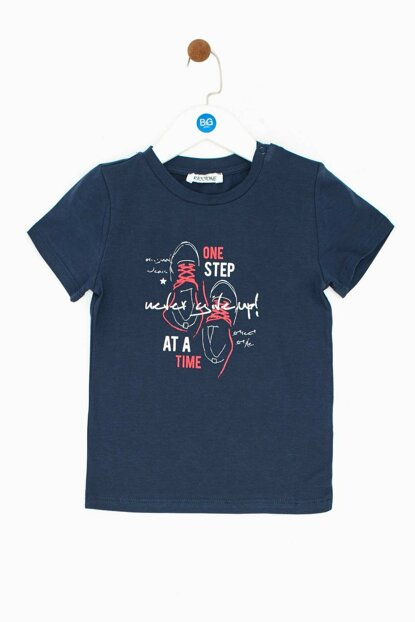 Baby Boy Navy Blue T-Shirt 19SS0RR1534