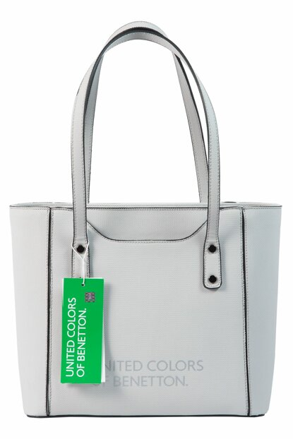Light Gray Women Shoulder Bag BNT76