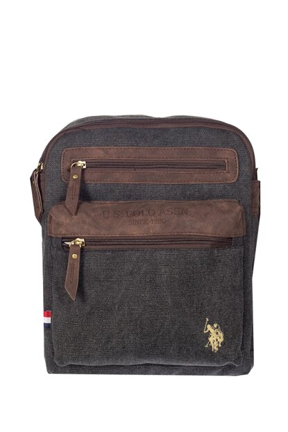 Unisex Anthracite Laptop Briefcase PLEVRO7155