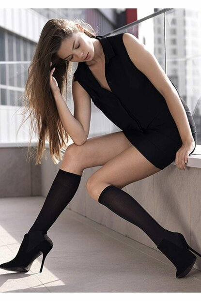 Women's Black Super Slim Pants Stockings 15 To 9 Pack Of 9 TRNT40178