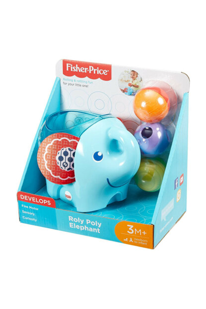 Fisher Price Rattlesnake Elephant U280526