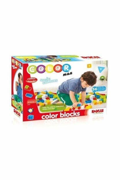 Colored Blocks 56 Pieces / 1763782