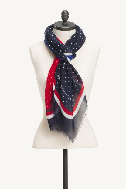 Women's Tommy Dots Scarf AW0AW05900