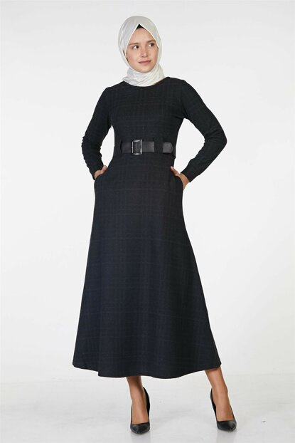 Women Black Dress Nassah-UU-3010