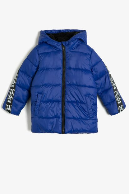 Boys' Printed Inflatable Coat 0KKB26764OW