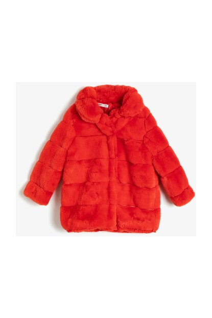 Orange Child Pelus Coat 0KKG27551OW