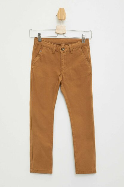 Brown Boys Chino Trousers K6812A6.19AU.BN402