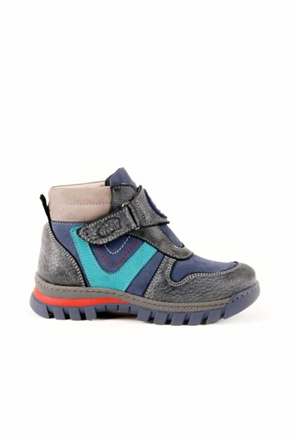 Navy Blue Boys Boots 8K8NB96319