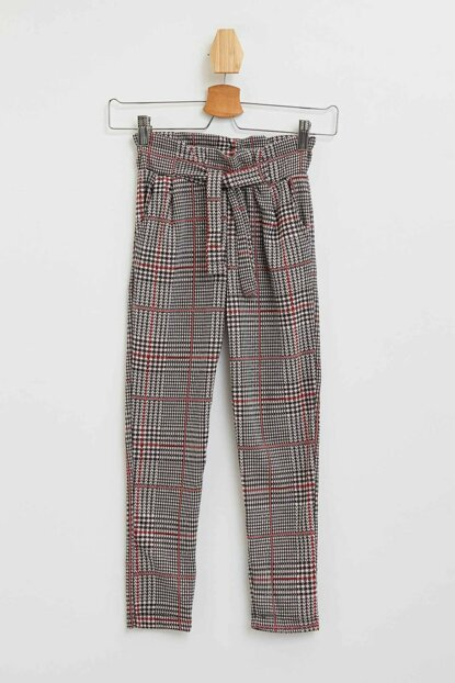 Patterned Knitted Trousers N1038A6.19AU.RD25