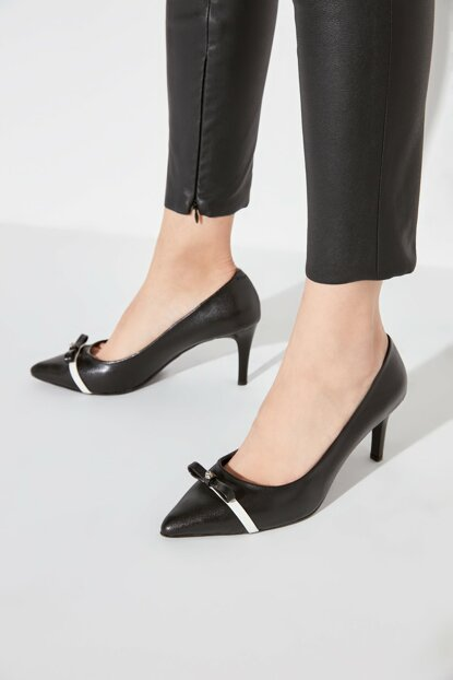 Black Women's High Heels Shoes TAKAW20TO0042