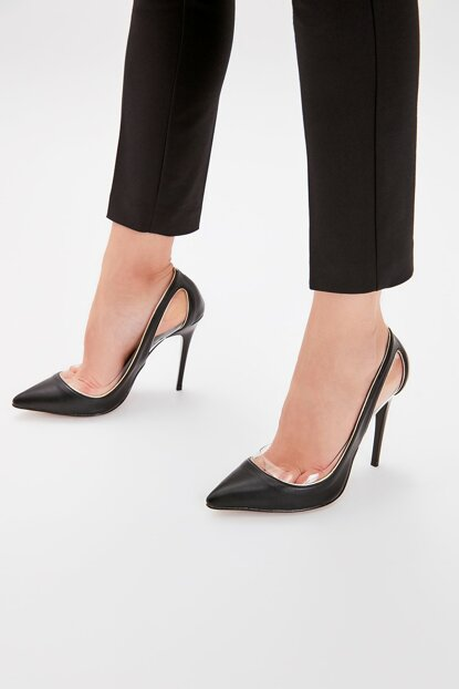 Black Women's High Heels Shoes TAKAW20TO0066