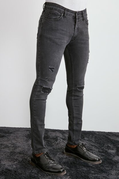 Anthracite Men's Tapered Jeans TMNAW20JE0327