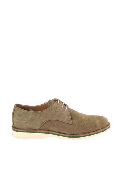Genuine Leather Khaki Men Classic Shoes 02AYH146470A880