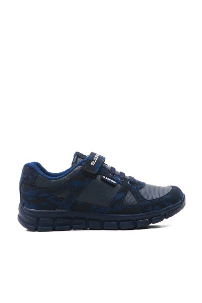 AFRA Sport Kids Shoes Navy Blue Camouflage SA29LF030