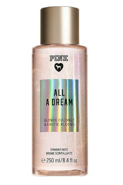 Pink All A Dream Shimmer Silvery Luminous Women Body Spray 250 ml 679360018316
