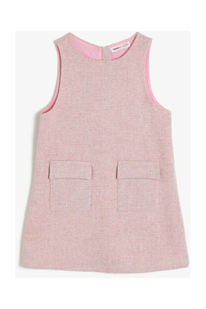 Pink Children's Pocket Detail Dress 0KKG87977AW