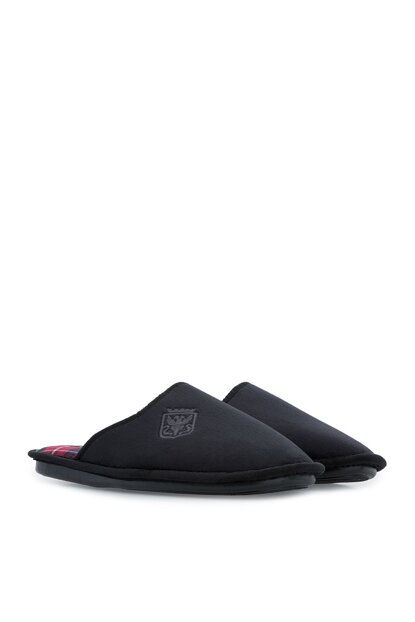 Black Men's Slipper RR0473