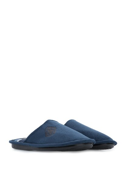 Navy Blue Men's Slipper RR0471