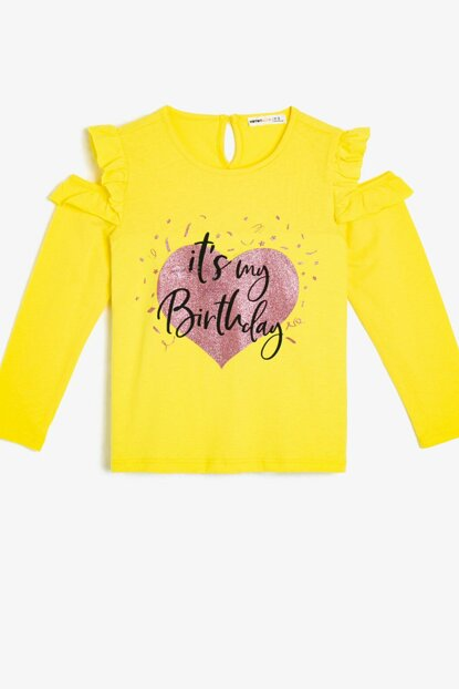 Yellow Children's T-Shirt 0KKG17966AK