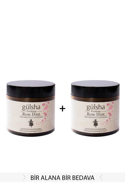 Purifying Rose Powder 2 x 40 g 8680434313017