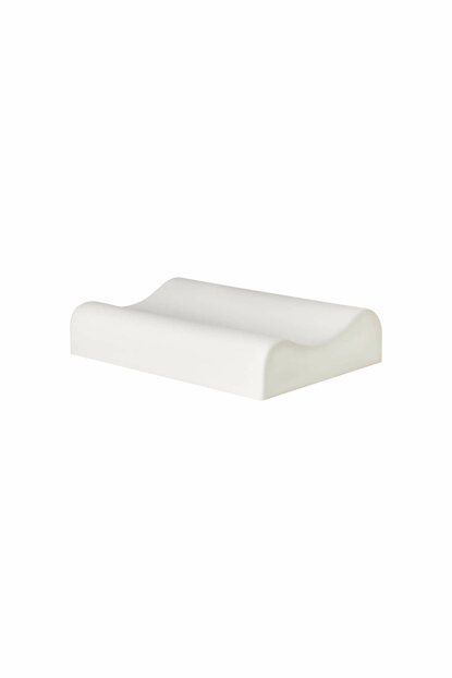 Visco Foam Aloevera Neck Supported Orthopedic Pillow Visco Pillow 1542232