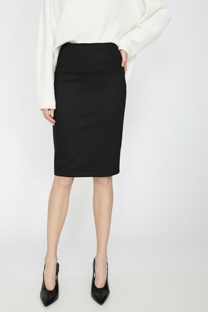 Women's Black Skirt 0KAK73426EK