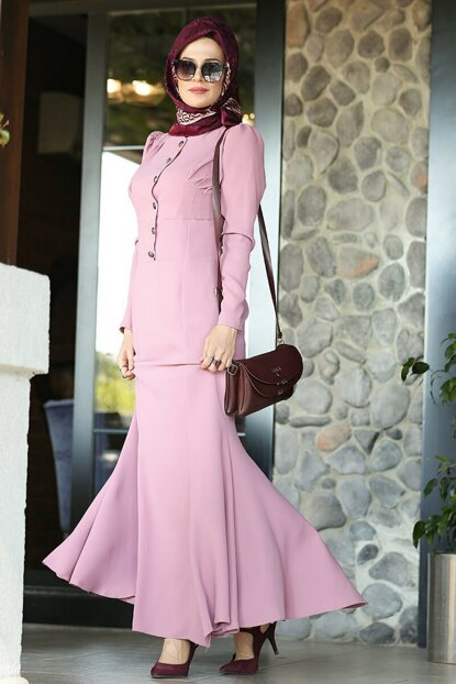 Fish Model Hijab Dress LVNZ5331