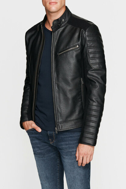 Men's Jacket with Zipper 010102-900
