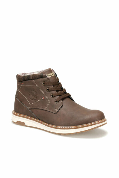 Brown Men's Boots & Booties 000000000100347098