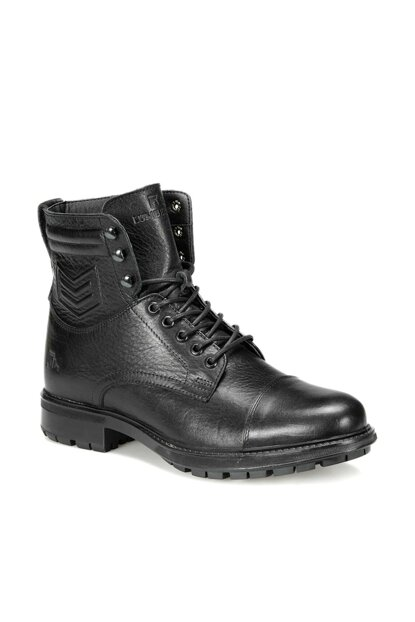 Genuine Leather Black Men's Boots FEDERICO 9PR