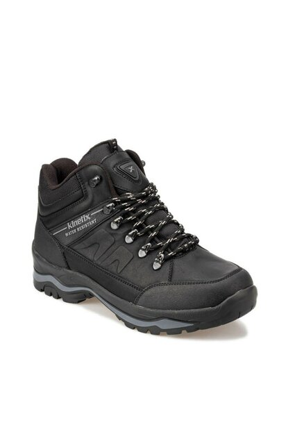 Black Men's Boots BARNARD 9PR