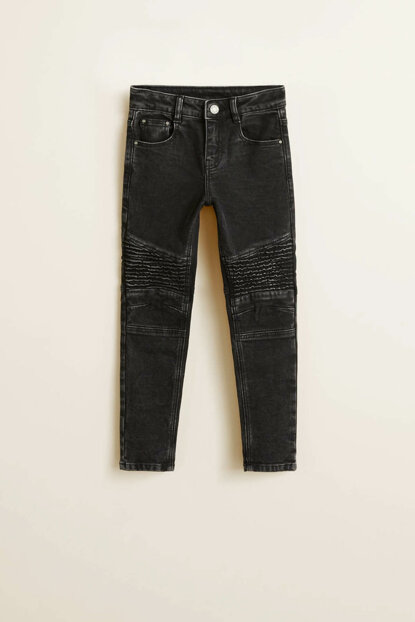 Black denim trousers for boys 33060949