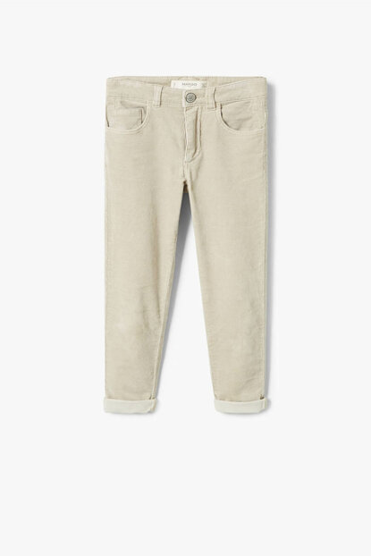 Beige Girls Trousers 33055738