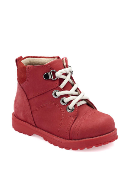 Red Girl Child Worker Boots 000000000100331620
