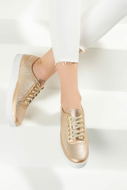 Gold Women's Shoes F0374220009