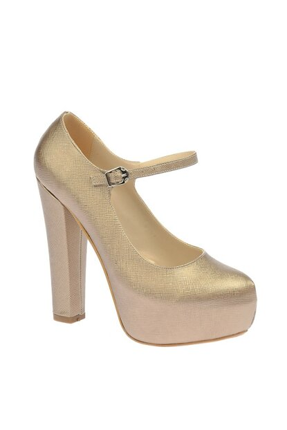 Copper Women Evening Shoes 45043