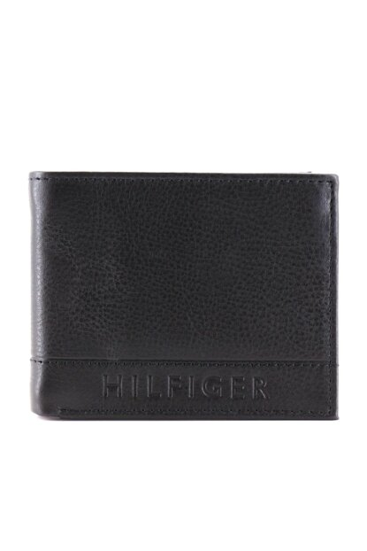 Men's Leather Wallet 31TL220084-BLACK