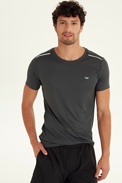 Men's Dark Gray Lzf Active Sport T-shirt 9SC894Z8