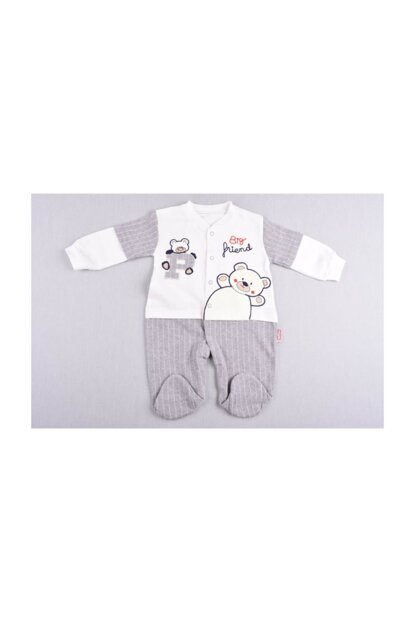 Baby Boy Striped Sweet Jumpsuit 28mbd229