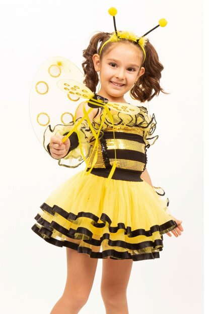 Bee Missbzz 13 Age Girl Costume ST00031-12