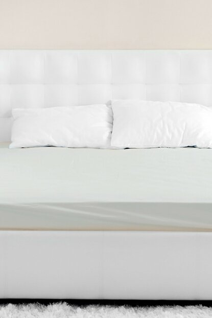 Beige Double Cotton Sheets 201.15.01.0042