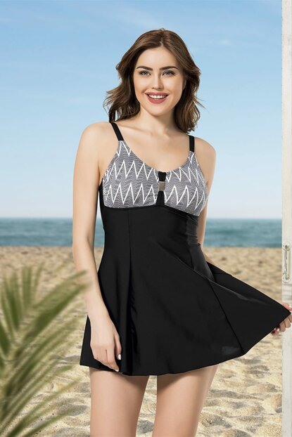 Women Black Dress Swimwear NB19YME00001